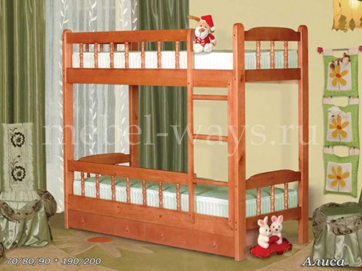 Двухъярусная кровать «Алиса»