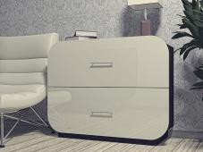 Белый глянцевый комод «Модерн-1»