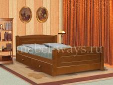 Кровать двуспальная с ящиком «Березка»