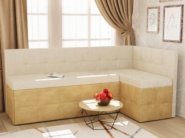 Бежевый угловой диван «Грета – 19»