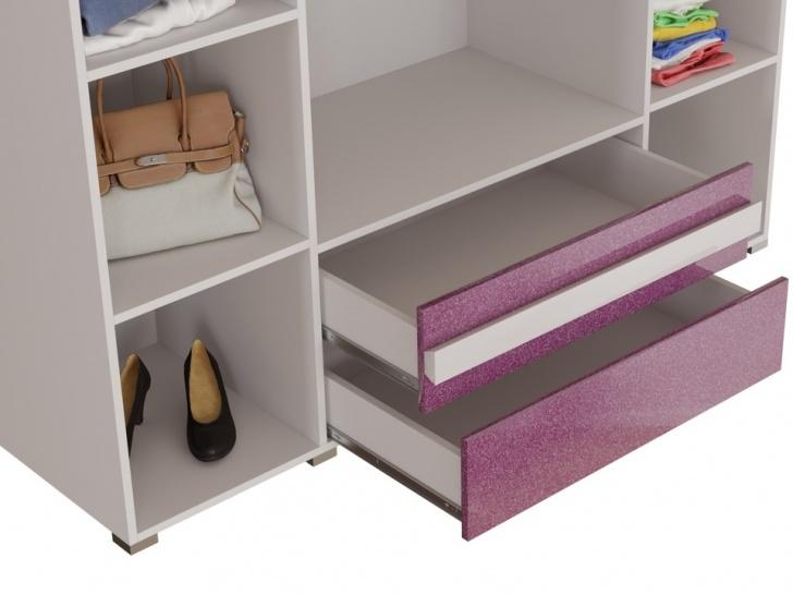 Большой шкаф для спальни «Дизайн Люкс – 19» с ящиками