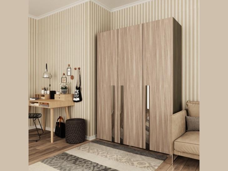 Большой шкаф в прихожую «Дизайн Люкс – 6»