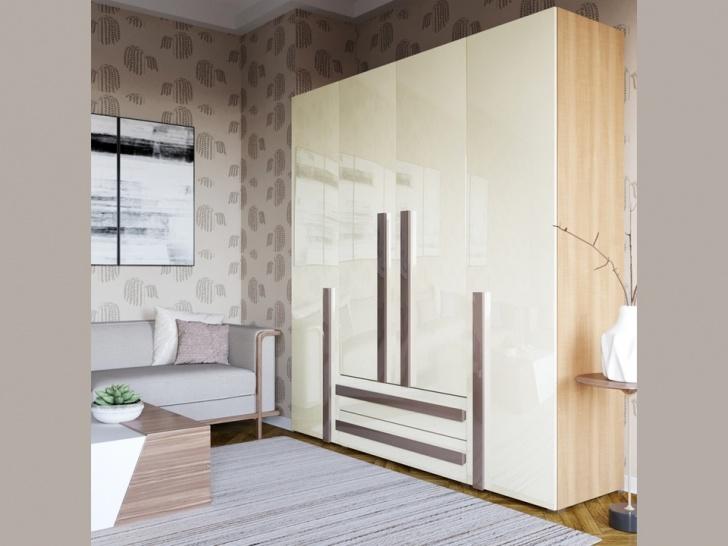 Четырехстворчатый шкаф «Дизайн Люкс – 14»
