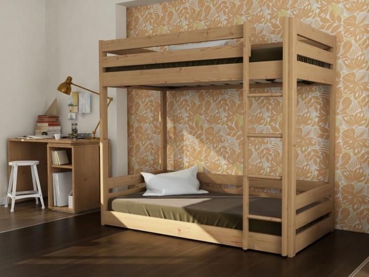 Деревянная двухэтажная кровать из сосны «Руфина 29»