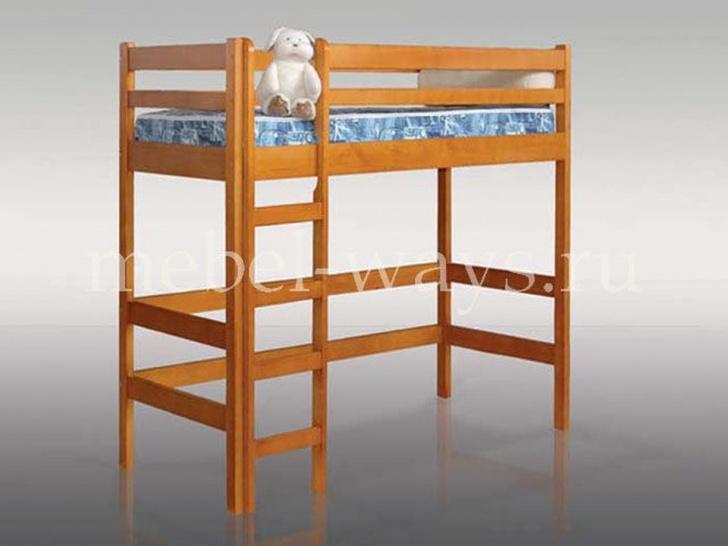 Деревянная кровать-чердак «Детская»