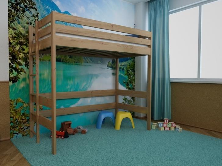 Деревянная кровать-чердак «Руфина-22»