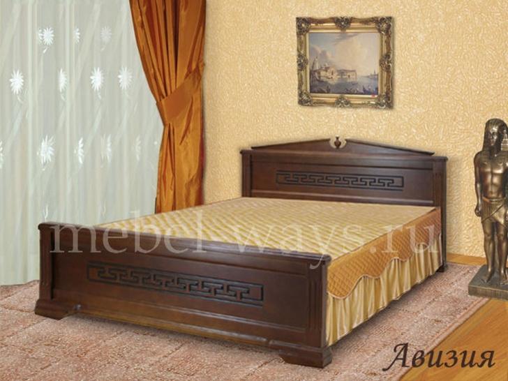 Двуспальная деревянная кровать «Авизия»