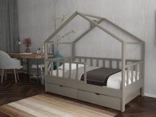 Детская кровать домик с ящиками «ДК-06»