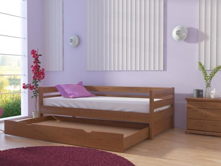 Детская кровать с выкатным местом «Руфина-32»