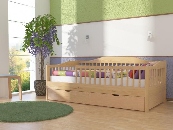 Детская подростковая кровать с бортиком «Руфина-33»