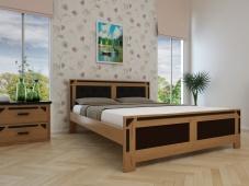 Дизайнерская кровать из массива «Августина-15»