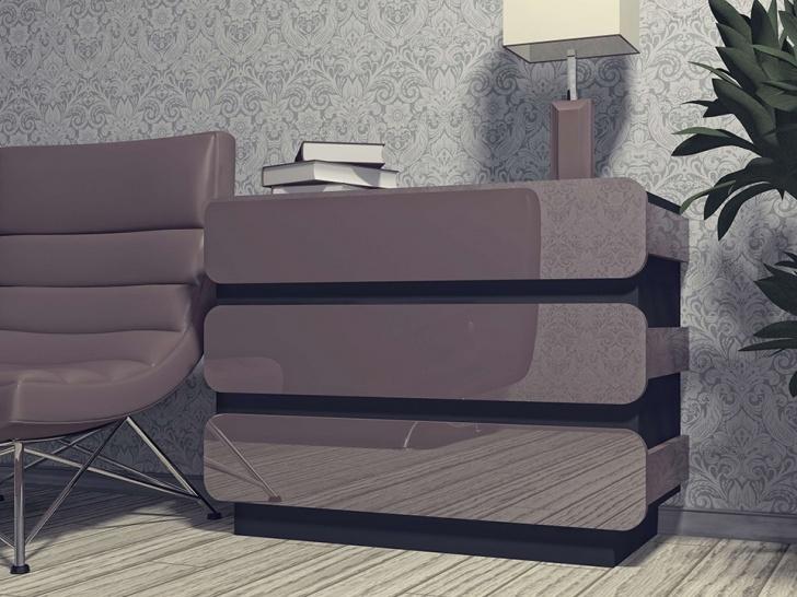 Дизайнерский комод для спальни «Модерн-8»