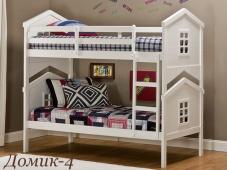 Детская двухъярусная кровать «Домик – 4»