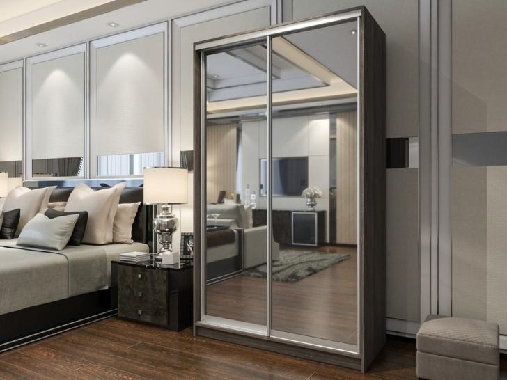 Зеркальный шкаф-купе «Манхеттен – 3»