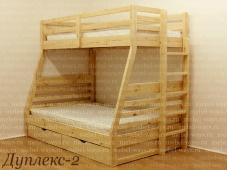 Двухуровневая кровать взрослая «Дуплекс-2»