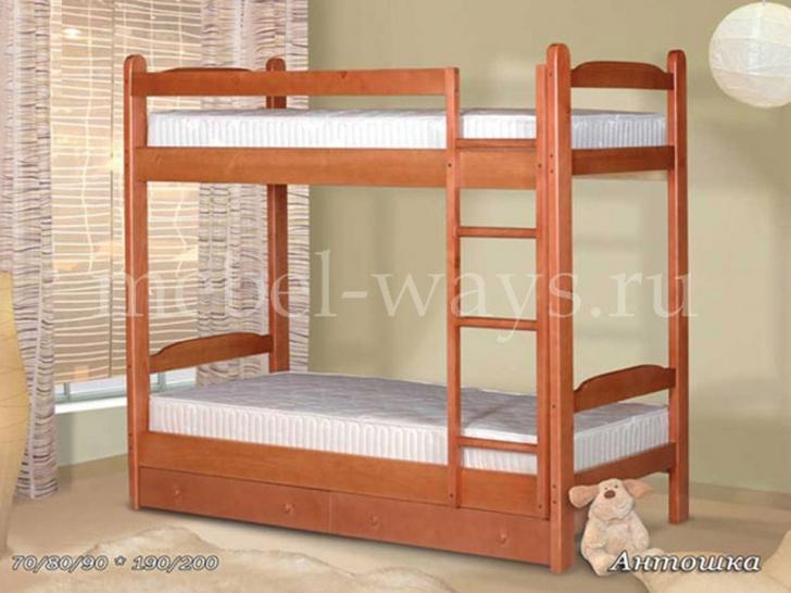 Двухъярусная кровать для хостела «Антошка»