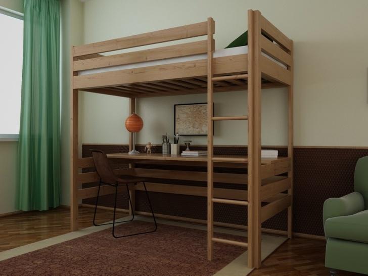 Двухъярусная кровать чердак со столом «Руфина 24»