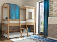 Двухъярусная кровать-домик «ДК-12»