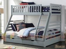 Двухъярусная кровать на 3 спальных места «Вояж»