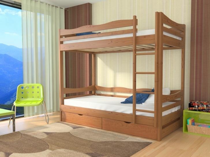 Двухъярусная кровать с бортиками «Руфина 37»
