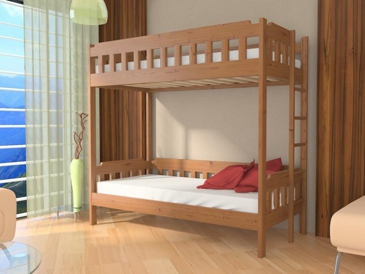 Двухъярусная кровать с лестницей сбоку «Руфина 38»