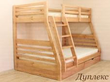 Кровать двухъярусная с широким нижним спальным местом «Дуплекс»