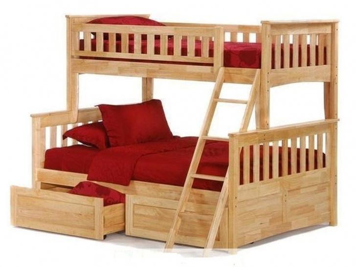 """Двухъярусная кровать с тремя спальными местами """"Модерн"""""""