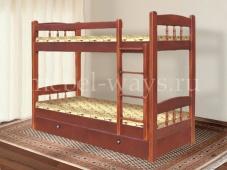 Двухъярусная кровать для детей и взрослых «Скаут-1»