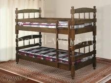 Двухъярусная кровать разборная на две кровати «Скаут-2»