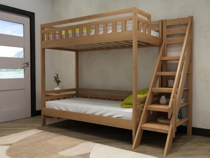 Двухъярусная кровать стеллаж «Руфина 39»