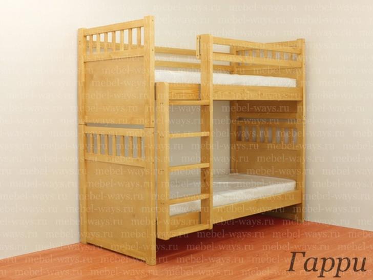 Кровать трансформер из массива дерева «Гарри»