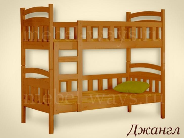 Двухъярусная кровать трансформер «Джангл»
