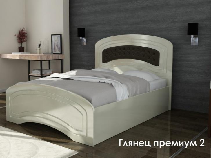 Двуспальная глянцевая кровать «Глянец Премиум-2»