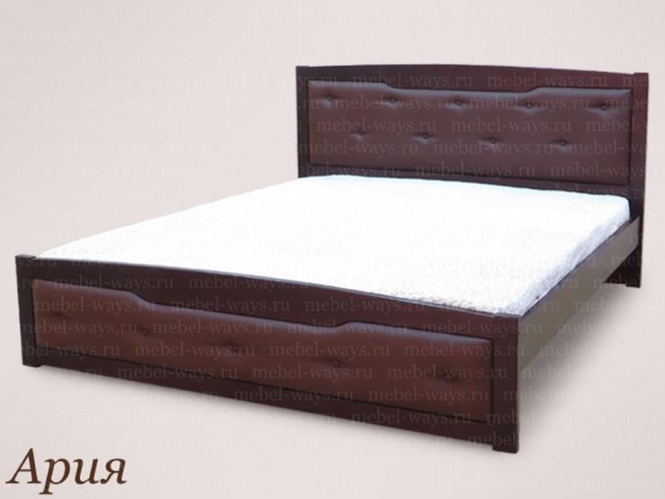 2х-спальная кровать с матрасом «Ария»