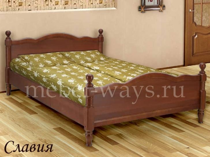 Кровать с балясинами «Славия»