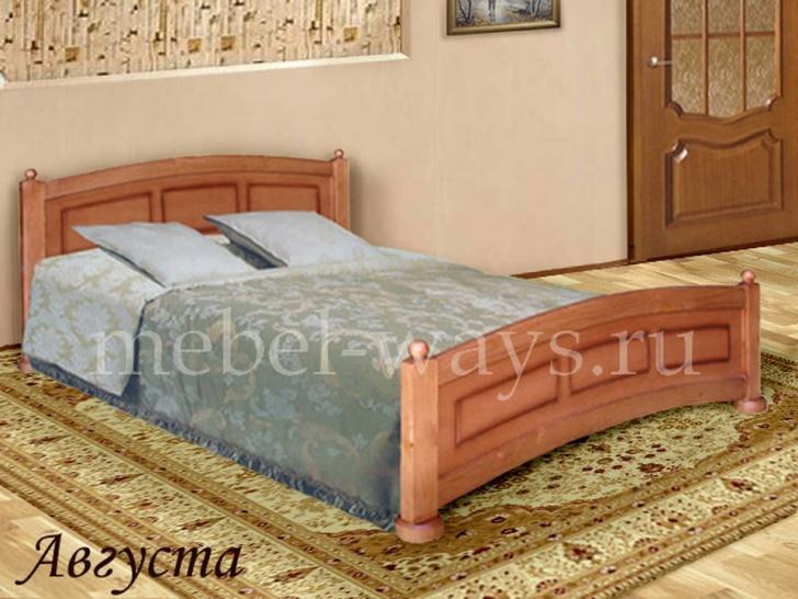 Двуспальная кровать от производителя «Августа»