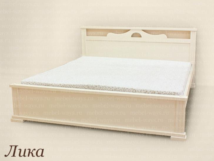 Двуспальная кровать от производителя «Лика»