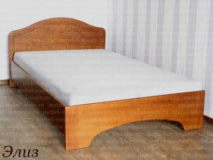 Кровать с рисунком на спинке «Элиз»