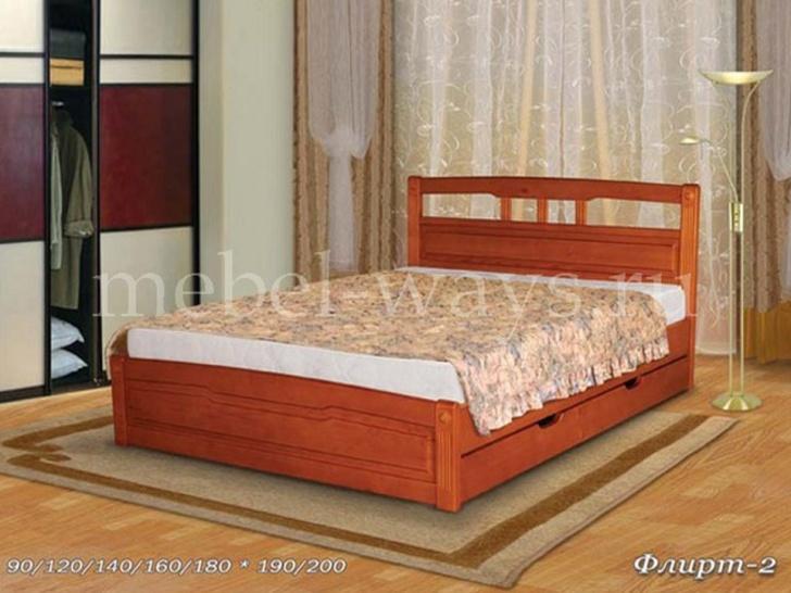 Кровать в загородный дом «Флирт-2»