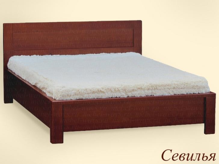 Недорогая кровать с ортопедическим основанием «Севилья»