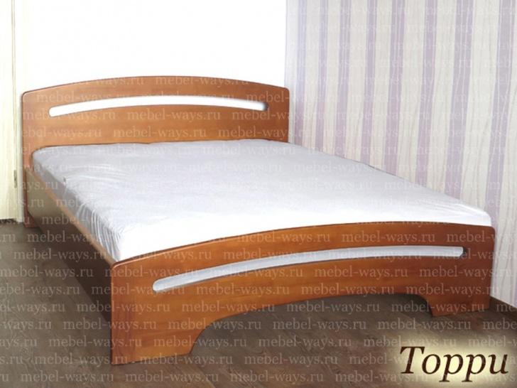 Деревянная кровать для дачи «Торри»