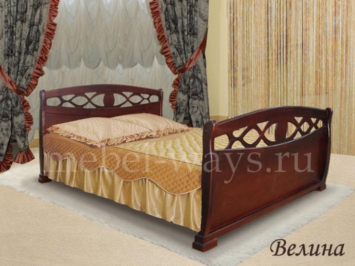 Кровать с высокими спинками «Велина»