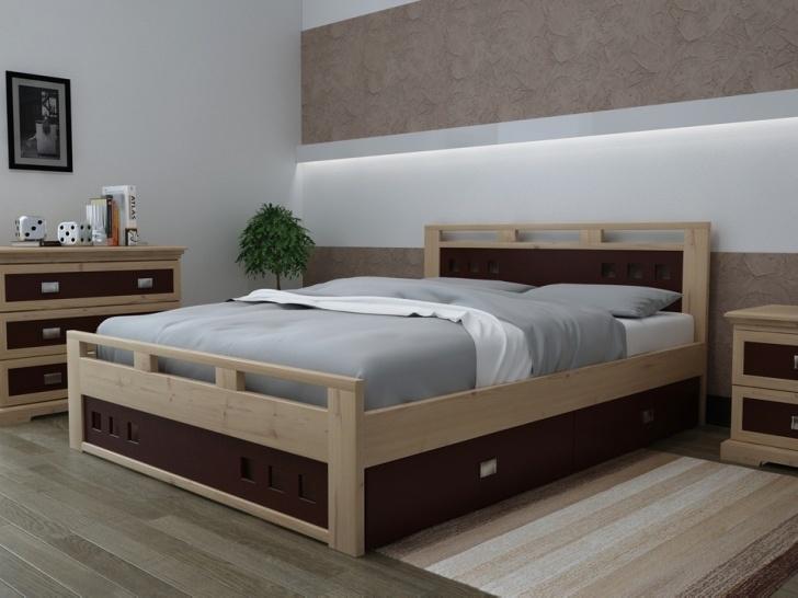 Эко кровать из дерева «Августина-7»