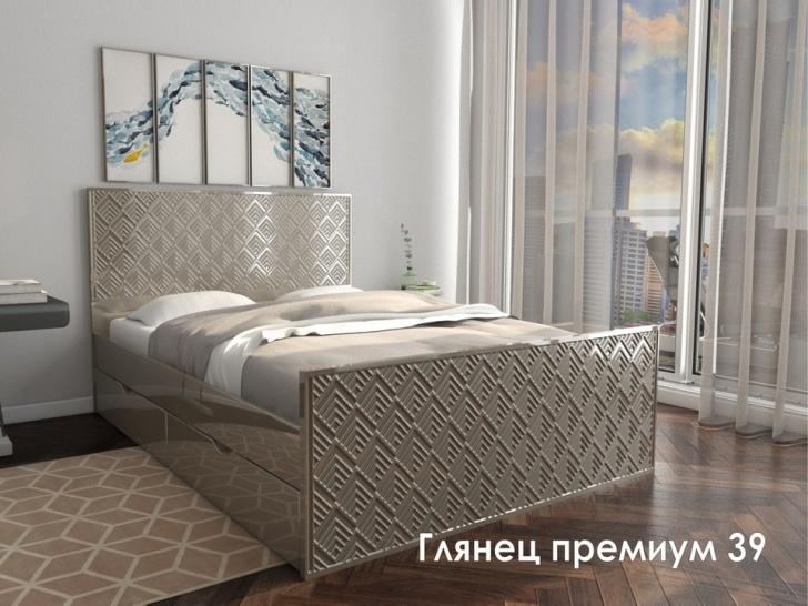 Эксклюзивная кровать «Глянец Премиум – 39»