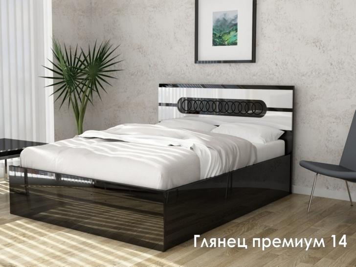 Глянцевая кровать из МДФ «Глянец Премиум – 14»