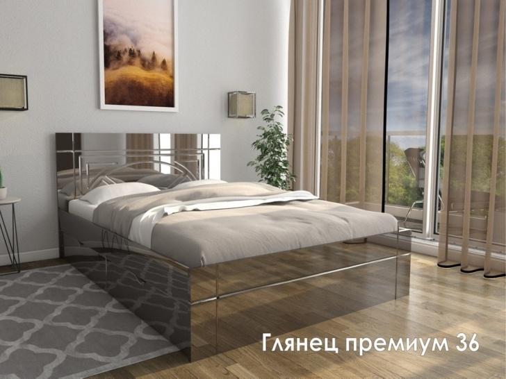 Глянцевая кровать с подъемным механизмом «Глянец Премиум – 36»