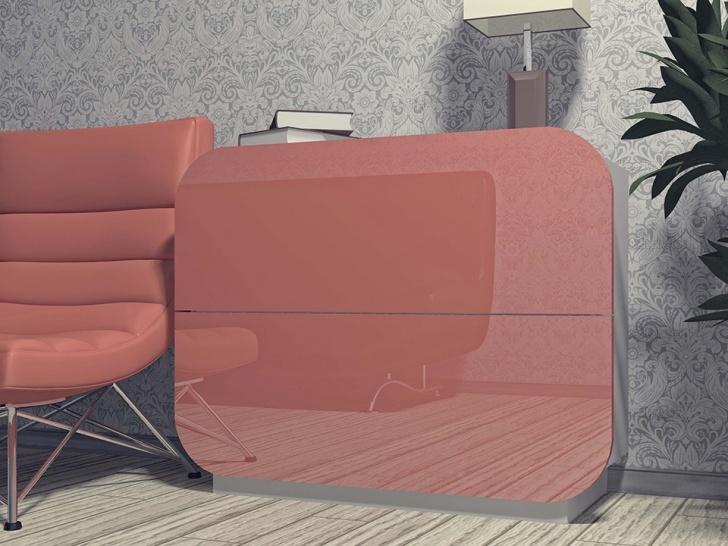 Глянцевый комод для спальни «Модерн-2»