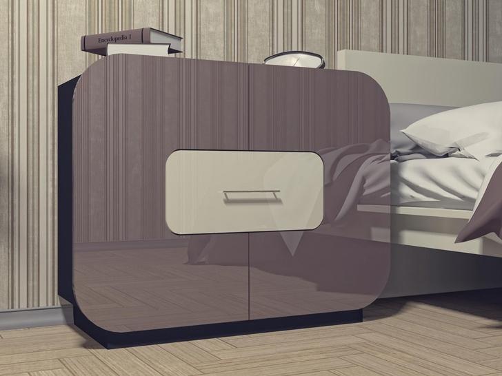 Глянцевый комод в современном стиле «Модерн-4»