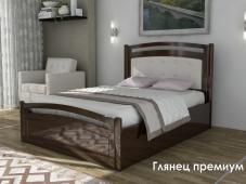 Глянец МДФ кровать «Глянец Премиум — 6»