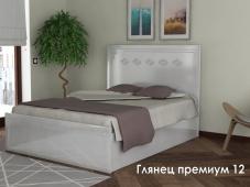 Красивая кровать «Глянец Премиум – 12»